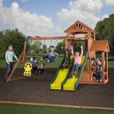 backyard discovery playsets cedar play park wooden swing set 1 jpg v u003d1457802092