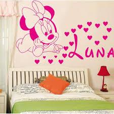 chambre enfant minnie décoration loisirs créatifs mignon mickey minnie bébé personnalisé