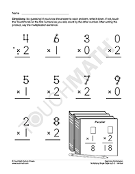 touch math worksheets great worksheet with touch points for day