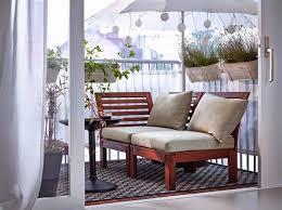 canapé balcon mobilier de balcon petit balcon coussins du canapé vie privée