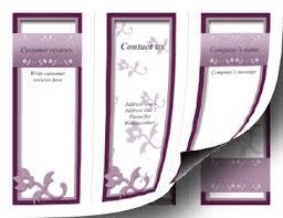 fancy brochure templates printable fancy brochure trifold