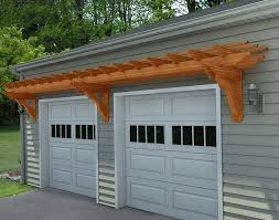 arbor over garage door designing traditional exterior using cheap pergola over garage kit home design ideas with arbor over garage door