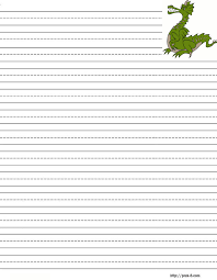 printable animal lined paper handwriting paper to print free printable writing paper for
