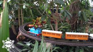 Train Show Botanical Garden by All Aboard For The Holiday Train Show In New York Video Abc News
