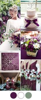 purple and white wedding 7 popular wedding color schemes for 2017 weddings