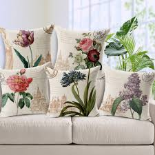 Vintage Home Decorations Country Pillow Covers Promotion Shop For Promotional Country