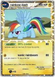 20 Cooler Meme - pok礬mon rainbow dash 23 23 20 cooler my pokemon card