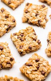 Top 10 Healthiest Granola Bars by Healthy Chocolate Chip Granola Bar Bites Recipe S