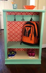 Inexpensive Storage Solution Diy Back To Backpack Coat Storage Made From An Inexpensive