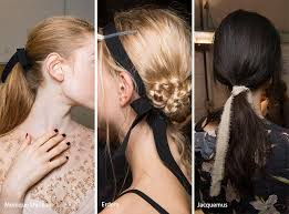hair ribbon summer 2017 hair accessory trends fashionisers