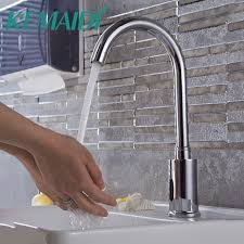 touch free faucets kitchen kemaidi kitchen faucets bathroom automatic touch free sensor