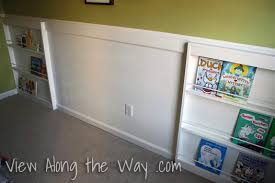 Wall Bookshelves For Kids Room by How To Build A Diy Front Facing Bookshelf For A Nursery
