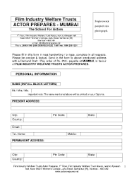 actor prepares application form download fill online printable