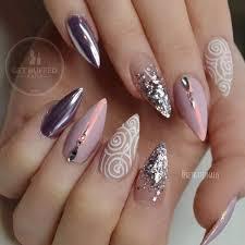 best 25 almond nail art ideas on pinterest fall almond nails
