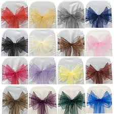 chair bows for weddings chair cover bows hire london