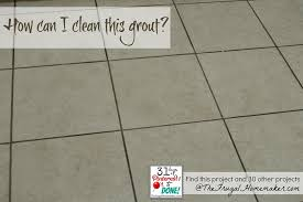 clean your grout day 29 of 31 days of pinned to done