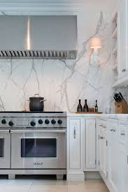 marble backsplash kitchen statuario marble kitchen countertops backsplash