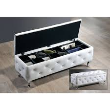 Kinfine Storage Ottoman Sparkle Upholstered Storage Bedroom Bench Bedroom Benches With