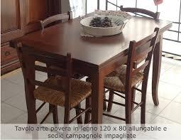 tavoli e sedie da cucina moderni beautiful tavoli da cucina arte povera ideas home interior ideas
