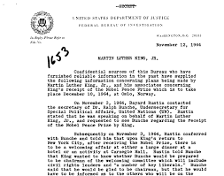 martin luther king jr declassified 9 primary source documents