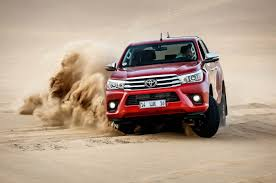 hilux 2016 toyota hilux vs the sand dunes of namibia autocar