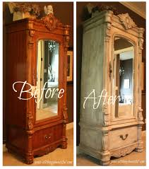 Painted Armoire Furniture How To Paint Wooden Armoire Mpfmpf Com Almirah Beds Wardrobes