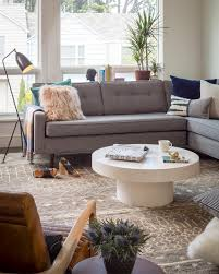 Sectional Table 12 Living Room Ideas For A Grey Sectional Hgtv U0027s Decorating