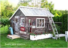 backyards beautiful decorating outdoors junk gitter done funky