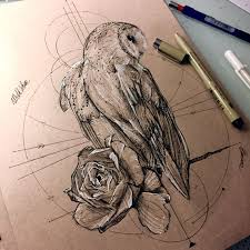 21 best buhos images on pinterest owl tattoos drawings and