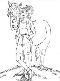 barbie horse coloring pages free printable barbie horse