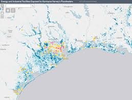Austin Flooding Map by Flooded By Hurricane Harvey New Map Shows Energy Industrial And
