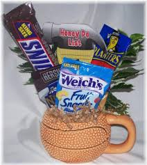 basketball gift basket basketball gifts for him customized gifts for him