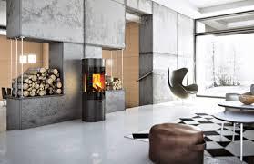 Kaminofen Modern Dekoration Und Interior Design Als Inspiration