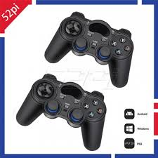 android joystick 2pcs 2 4g wireless controller gamepad joystick for raspberry