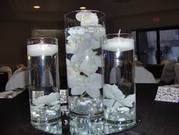 centerpieces for wedding reception decorations winter wedding centerpiece reception glass loversiq