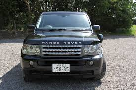 range rover sport v8 supercharged in black and drives greatauto