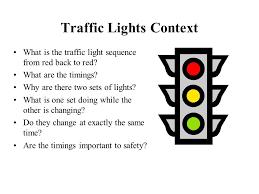 Traffic Light Order Control Technology At Ks2 Ppt Video Online Download