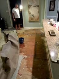 How To Replace Subfloor In Bathroom Waking Up To A Flooded Kitchen U0026 Familyroom Sand And Sisal
