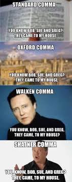William Shatner Meme - the shatner comma imgur