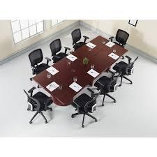 Modular Conference Table Lorell Modular Mahogany Conference Table Modesty Panel Servmart