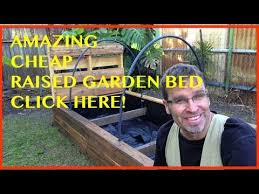 how to build a raised garden bed the ultimate pallet wood