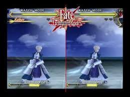 theme psp fate stay night fate stay night unlimited codes side by side comparison video