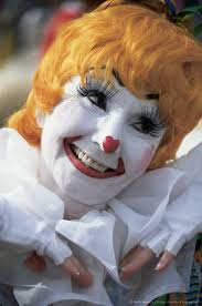 How To Do Clown Makeup For Halloween The 437 Best Images About Clowns On Pinterest Circus Clown Bozo