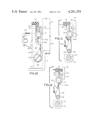 patent us4281359 static trip unit for molded case circuit