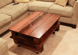 how to make a pallet coffee table 2527