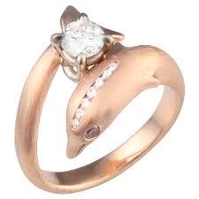 dolphin engagement ring dolphin engagement ring