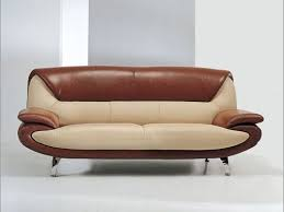 Contempo Leather Sofa by Kit Carson Contemporary Leather Sofa Seattle Washington 569 00