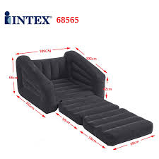 intex one person inflatable pull out chair bed jade sofa bed