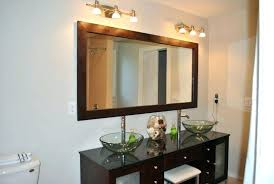 bathroom wall mirrors large framed mirrors for bathroom framing a large bathroom mirror see