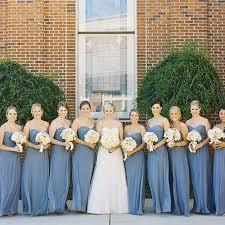 blue bridesmaid dresses for nautical summer nuptials brides